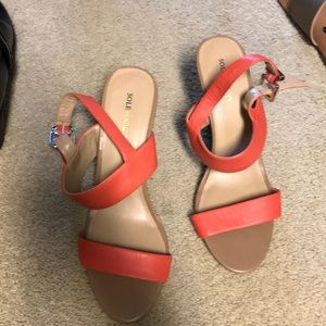 Sole Society sandal wedges